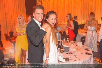 Miss Austria 2018 - Design Center Linz - Sa 01.09.2018 - Philipp KNEFZS mit Freundin Virginia ROHRHAN66