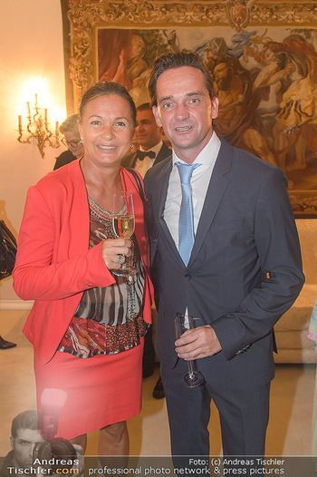 Privatempfang für Michael Ludwig - Privatwohnung Birgit Sarata - Di 04.09.2018 -  Doris FELBER, Kurt GOLLOWITZER14