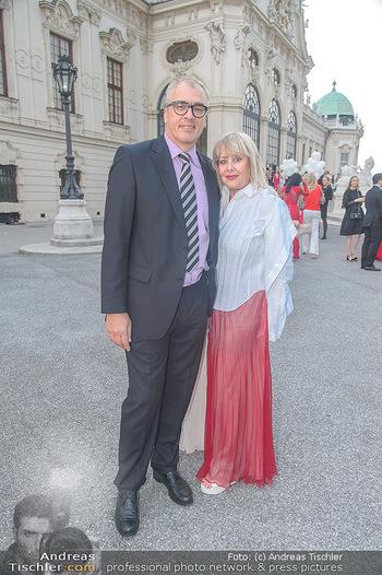 Leading Ladies Awards 2018 - Schloss Belvedere - Di 04.09.2018 - Ziggi MÜLLER mit Begleitung22