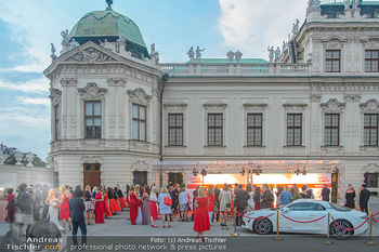 Leading Ladies Awards 2018 - Schloss Belvedere - Di 04.09.2018 - Gäste beim Sektempfang, vor dem Schloss Belvedere, Sommerfest41