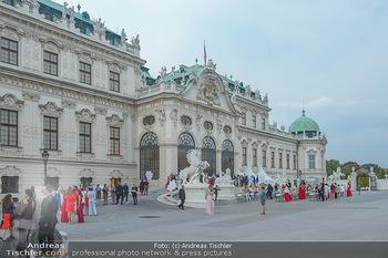 Leading Ladies Awards 2018 - Schloss Belvedere - Di 04.09.2018 - Gäste beim Sektempfang, vor dem Schloss Belvedere, Sommerfest42