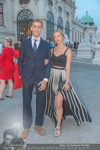 Leading Ladies Awards 2018 - Schloss Belvedere - Di 04.09.2018 - Ferdinand Zvonimir HABSBURG-LOTHRINGEN mit Schwester Eleonore VO47