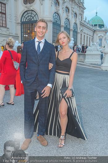 Leading Ladies Awards 2018 - Schloss Belvedere - Di 04.09.2018 - Ferdinand Zvonimir HABSBURG-LOTHRINGEN mit Schwester Eleonore VO48