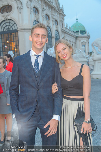 Leading Ladies Awards 2018 - Schloss Belvedere - Di 04.09.2018 - Ferdinand Zvonimir HABSBURG-LOTHRINGEN mit Schwester Eleonore VO49