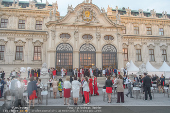 Leading Ladies Awards 2018 - Schloss Belvedere - Di 04.09.2018 - Gäste beim Sektempfang, vor dem Schloss Belvedere, Sommerfest62