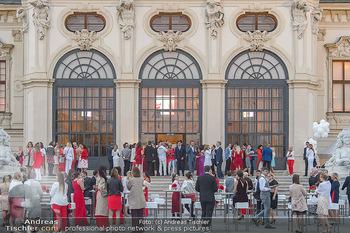 Leading Ladies Awards 2018 - Schloss Belvedere - Di 04.09.2018 - Gäste beim Sektempfang, vor dem Schloss Belvedere, Sommerfest64