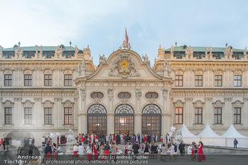Leading Ladies Awards 2018 - Schloss Belvedere - Di 04.09.2018 - Gäste beim Sektempfang, vor dem Schloss Belvedere, Sommerfest65