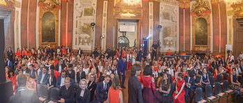 Leading Ladies Awards 2018 - Schloss Belvedere - Di 04.09.2018 - Publikum, Festsaal95