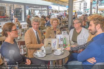 Swen Temmel und Meadow Williams - Zanoni und Stephansplatz, Wien - Di 04.09.2018 - Lisa BACHMANN, Charly und Maria TEMMEL, Agnes REHLING, Swen TEMM2