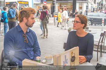 Swen Temmel und Meadow Williams - Zanoni und Stephansplatz, Wien - Di 04.09.2018 - Swen TEMMEL, Lisa BACHMANN8