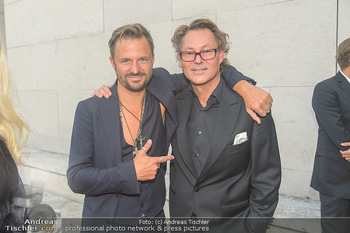WOW! Closing und Fundraising Dinner - Leopold Museum - Mi 05.09.2018 - Philipp HOCHMAIR, Hans-Peter WIPPLINGER14