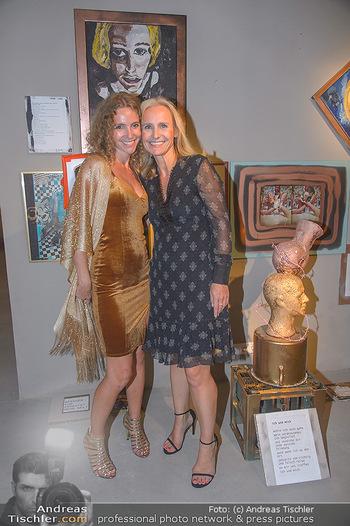 Art Exhibition - Galerie Baxter Home - Mi 05.09.2018 - Carola LINDENBAUER, Evelyn STEINBERGER-KERN7
