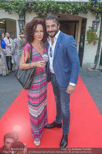 Runway Fashion Show - Kattus Sektkellerei - Do 06.09.2018 - Christina LUGNER, Mauro John MALOBERTI24