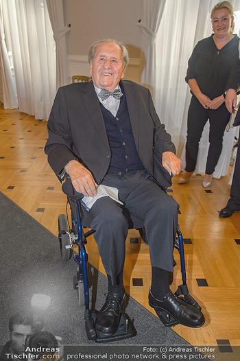 Ehrenzeichen für Karl Spiehs - Bundeskanzleramt - Mo 10.09.2018 - Karl SPIEHS38