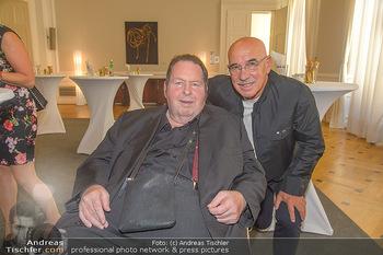 Ehrenzeichen für Karl Spiehs - Bundeskanzleramt - Mo 10.09.2018 - Ottfried FISCHER, Otto RETZER42