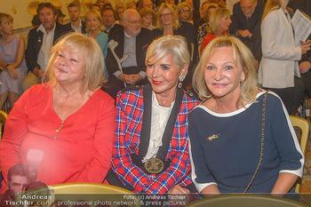 Ehrenzeichen für Karl Spiehs - Bundeskanzleramt - Mo 10.09.2018 - Marianne MENDT, Friederike WLASCHEK, Ingrid FLICK58