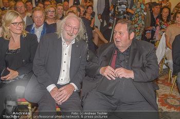 Ehrenzeichen für Karl Spiehs - Bundeskanzleramt - Mo 10.09.2018 - Karl MERKATZ, Ottfried FISCHER80