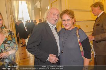 Ehrenzeichen für Karl Spiehs - Bundeskanzleramt - Mo 10.09.2018 - Karl MERKATZ, Katharina JACOB99