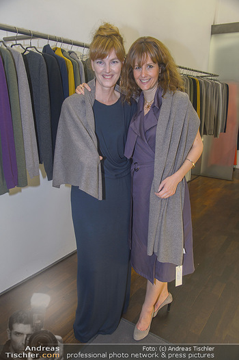 Cashmere Bestell-Event - Michel Mayer Store Wien - Do 13.09.2018 - Daniela ZELLER, Michel MAYER2