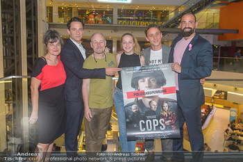 COPS Kinopremiere - UCI Millennium City Wien - Di 18.09.2018 - Roland DÜRINGER, Anna SUK, Anton NOORI, Maria HOFSTÄTTER, Laur18