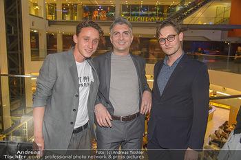 COPS Kinopremiere - UCI Millennium City Wien - Di 18.09.2018 - Aaron FRIESZ, Stefan Istvan LUKACS (Regisseur), Lukas WATZL31