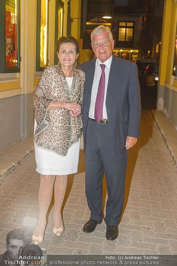 20 Jahre Peter Hofbauer im Metropol - Wiener Metropol, Wien - Mi 19.09.2018 - Klaus LIEBSCHER mit Ehefrau Vita25