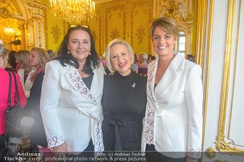 Pink Ribbon 5-Uhr-Tee - Palais Coburg, Wien - Di 25.09.2018 - Doris KIEFHABER, Lizzy Elisabeth ENGSTLER, Martina LÖWE1