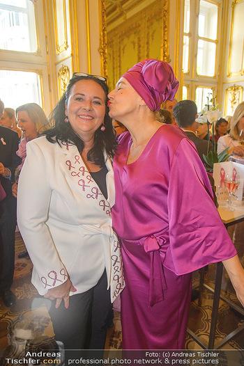 Pink Ribbon 5-Uhr-Tee - Palais Coburg, Wien - Di 25.09.2018 - Andrea BUDAY, Doris KIEFHABER5