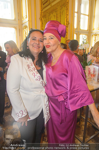 Pink Ribbon 5-Uhr-Tee - Palais Coburg, Wien - Di 25.09.2018 - Andrea BUDAY, Doris KIEFHABER6