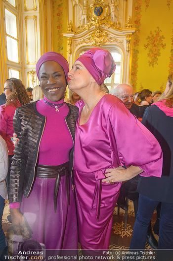 Pink Ribbon 5-Uhr-Tee - Palais Coburg, Wien - Di 25.09.2018 - Andrea BUDAY, Doretta CARTER7