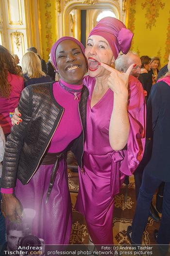 Pink Ribbon 5-Uhr-Tee - Palais Coburg, Wien - Di 25.09.2018 - Andrea BUDAY, Doretta CARTER8
