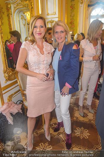 Pink Ribbon 5-Uhr-Tee - Palais Coburg, Wien - Di 25.09.2018 - Johanna SETZER, Liane SEITZ15