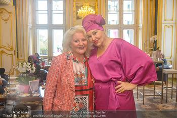 Pink Ribbon 5-Uhr-Tee - Palais Coburg, Wien - Di 25.09.2018 - Marika LICHTER, Andrea BUDAY27