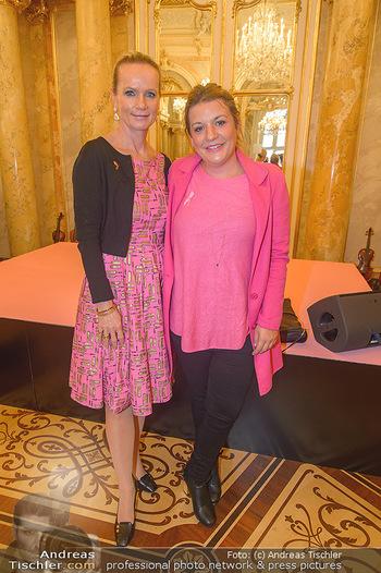 Pink Ribbon 5-Uhr-Tee - Palais Coburg, Wien - Di 25.09.2018 - Marion PELZEL, Verena SCHNEIDER28