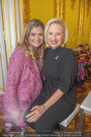 Pink Ribbon 5-Uhr-Tee - Palais Coburg, Wien - Di 25.09.2018 - Lizzy Elisabeth ENGSTLER, Andrea BOCAN31