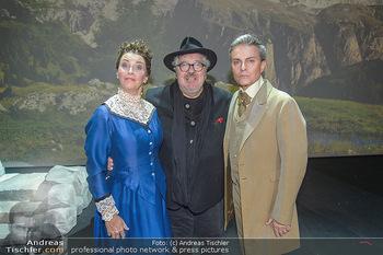 Premiere Heidi - MuseumsQuartier MQ Halle E - Mi 10.10.2018 - Maya HAKVOORT, Michael SCHANZE, Alfons HAIDER15