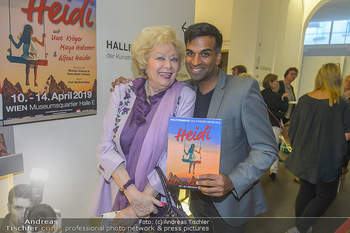 Premiere Heidi - MuseumsQuartier MQ Halle E - Mi 10.10.2018 - Birgit SARATA, Ramesh NAIR29