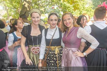 Damenwiesn - Wiener Wiesn, Wien - Do 11.10.2018 - Michel MEYER, Niely HÖTSCH, Konstanze KURZ1