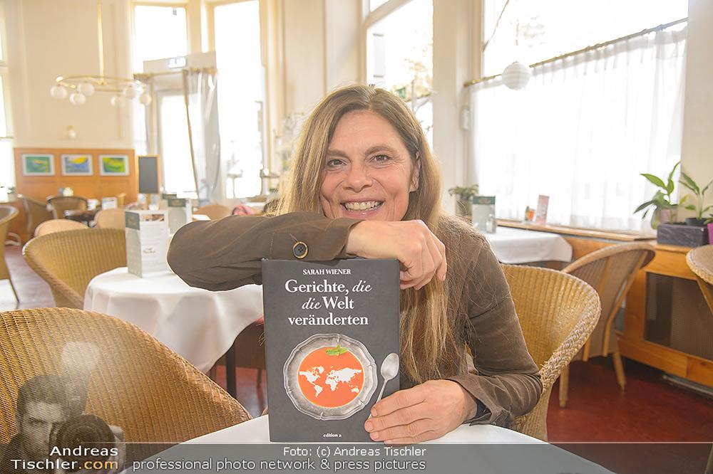 Sarah Wiener Kochbuch Präsentation - 2018-10-12 - Cafe Prückel Wien