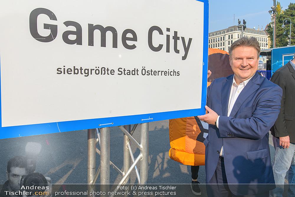 GAME CITY Bürgermeister Besuch - 2018-10-19 - Rathaus Wien