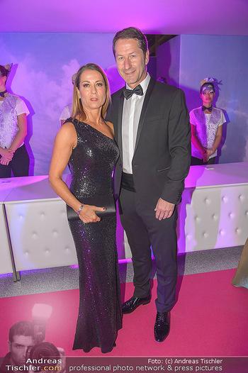 Ronald McDonald Kinderhilfegala - Messe Wien - Fr 19.10.2018 - Franco FODA mit Ehefrau Andrea36