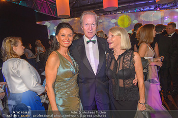 Ronald McDonald Kinderhilfegala - Messe Wien - Fr 19.10.2018 - Rudolf HUMER mit Ehefrau, Sonja KLIMA51