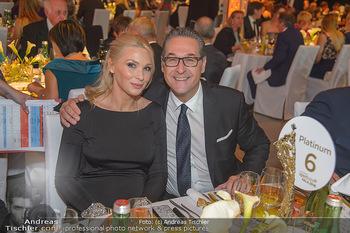 Sporthilfe Sportler des Jahres Gala - Marx Halle - Mi 31.10.2018 - Heinz-Christian HC STRACHE mit Ehefrau Philippa (BECK, schwanger4