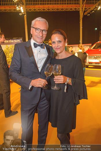 Sporthilfe Sportler des Jahres Gala - Marx Halle - Mi 31.10.2018 - Rainer PARIASEK mit Ehefrau Eva5
