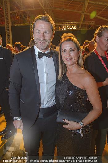 Sporthilfe Sportler des Jahres Gala - Marx Halle - Mi 31.10.2018 - Franco FODA mit Ehefrau Andrea16