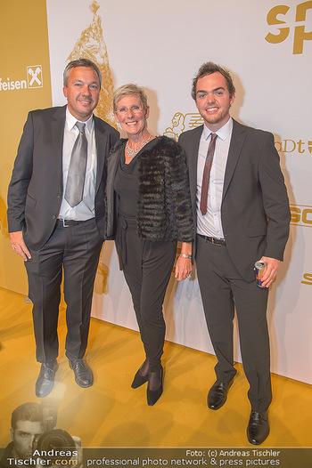 Sporthilfe Sportler des Jahres Gala - Marx Halle - Mi 31.10.2018 - Fritz STROBL, Annemarie MOSER-PRÖLL, Matthias WALKNER28