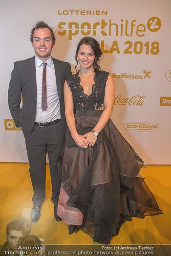 Sporthilfe Sportler des Jahres Gala - Marx Halle - Mi 31.10.2018 - Anna VEITH, Matthias WALKNER29