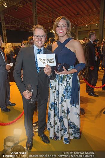 Sporthilfe Sportler des Jahres Gala - Marx Halle - Mi 31.10.2018 - Serge FALCK, Susanna WIESNER34