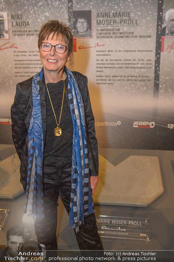 Sporthilfe Sportler des Jahres Gala - Marx Halle - Mi 31.10.2018 - Annemarie MOSER-PRÖLL38