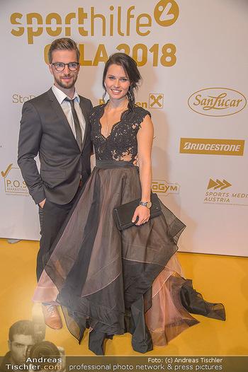 Sporthilfe Sportler des Jahres Gala - Marx Halle - Mi 31.10.2018 - Anna VEITH mit Ehemann Manuel49
